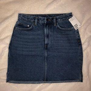 H&M Mini Denim Skirt